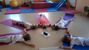 relaxace děti jóga
